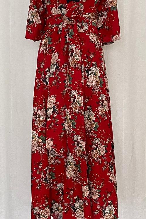 Kimono China Red
