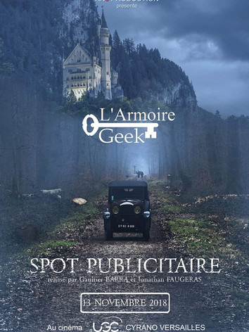 Spot Publicitaire L'Armoire Geek