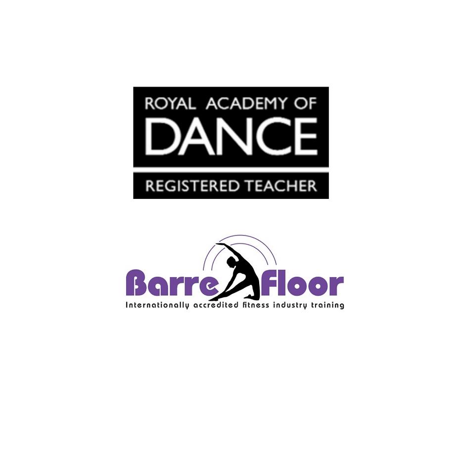 RAD logo and Barre Floor logo