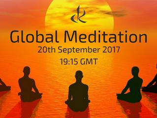 Global Meditation - Via Facebook Live
