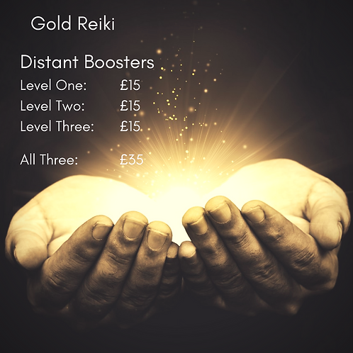 Gold Reiki - Level 3