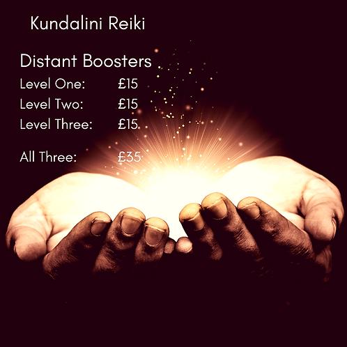 Kundalini Reiki - Booster Pack 1, 2 & 3