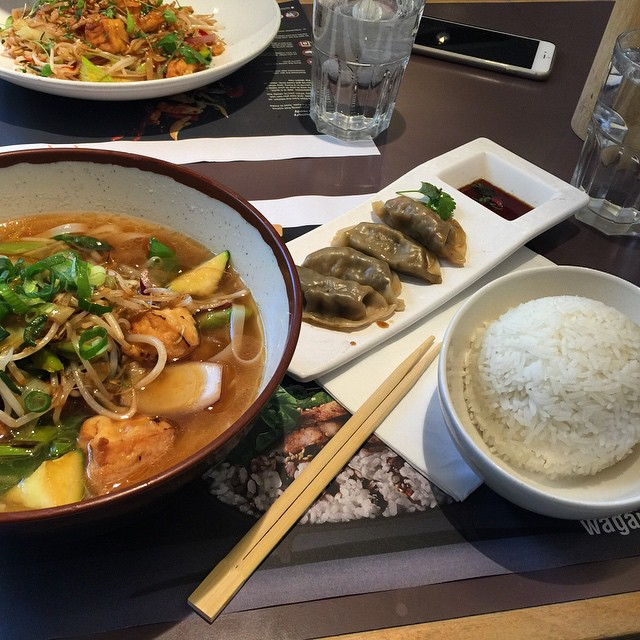 Instagram - #Wagamamas never disappoints..