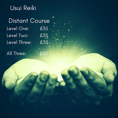 Reiki 2nd Degree - Distant