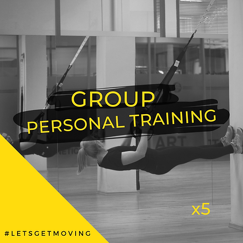 Group Personal Training x5