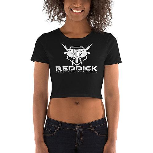 """""""Reddick Firearms Training"""" Women's Crop Tee"""
