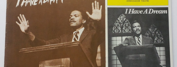 I HAVE A DREAM - MLK. Jr. - Program SIGNED by Billy Dee Williams and others