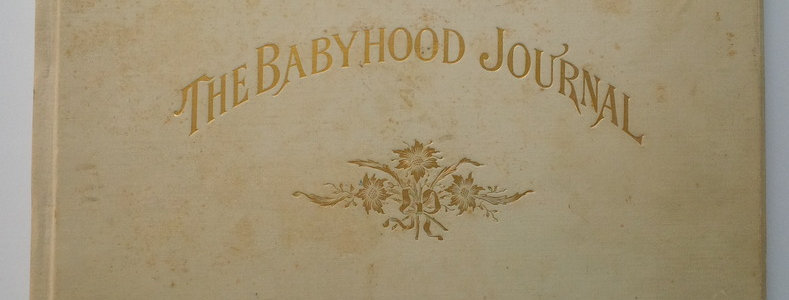 The Babyhood Journal-1899-completed for 1899 baby - many Cyanotypes