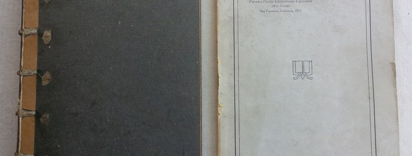 De Luxe illustrated PPIE Art Catalogue in custom hardcover binding