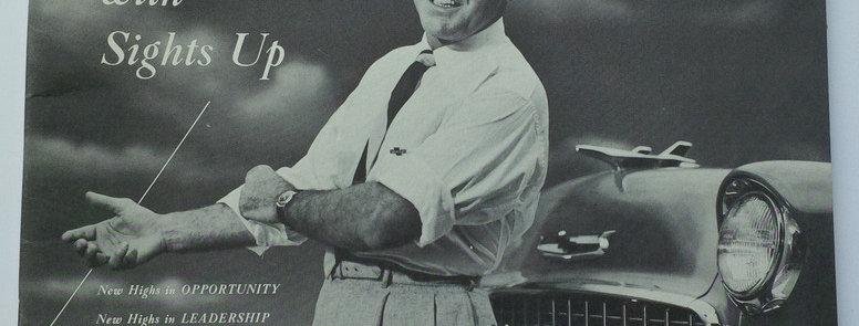 Chevrolet Dealer National Sales Convention for 1954