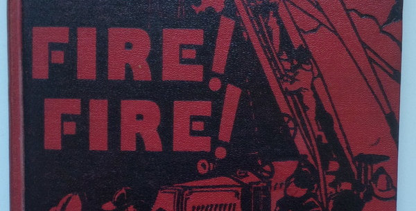 Uncommon juvenile book on Fire Fighting