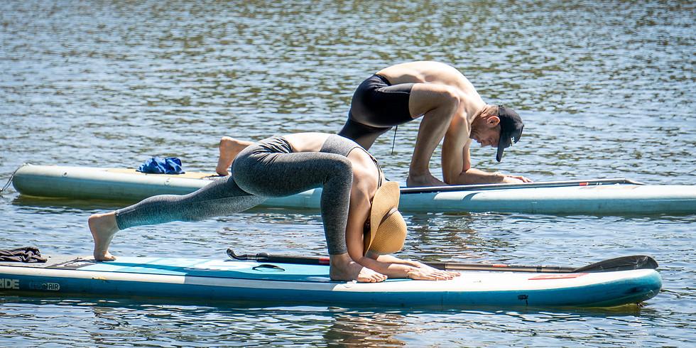 SUP Yoga on the Dam