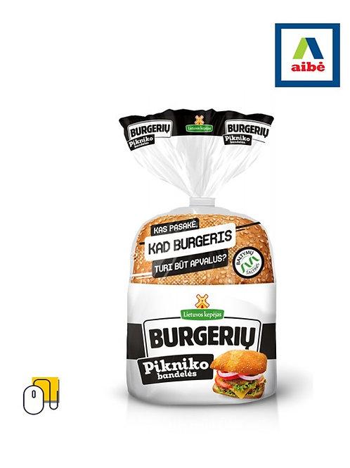 PIKNIKO burgerių bandelės 240 g