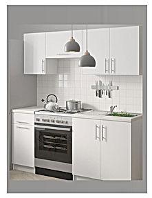 Virtuvinių spintelių komplektas Bianco D