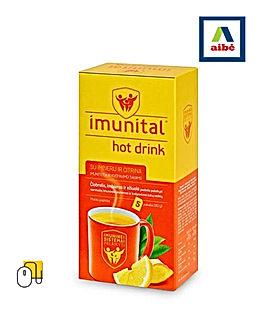 Karštas gėrimas IMUNITAL su imbieru ir c