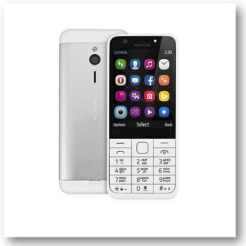 Telefonas Nokia 230 Dual SIM, Silver