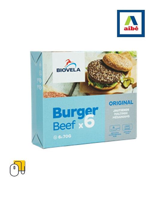 Šaldyti jautienos maltiniai ORIGINAL mėsainiams ruošti 420 g