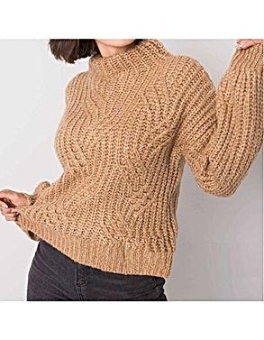 Megztinis moterims rudas.jpg
