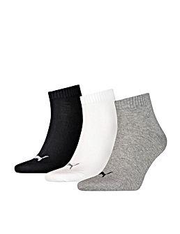 Pilkos spalvos laisvalaikio kojinės Puma