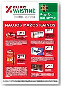 09 EURO vaistine AKC cover iki 09 30 Q.j