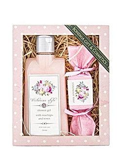 Kosmetikos dovanų rinkinys moterims ROZE