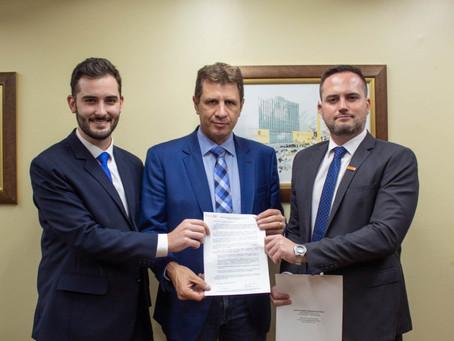 Deputados do Novo apresentam carta a futuro presidente da Assembleia