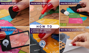 How to take care of your Scratch off Posters