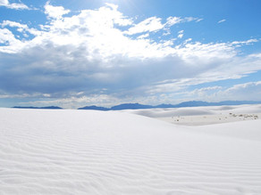 White Sands National Park, New Mexico - the newest National Park in the US