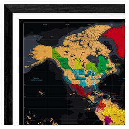 Extra Large World Map