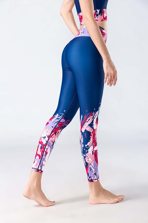 Leggings-Paint Pink