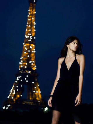 Нана Набієва підкорює подіуми Парижа