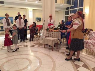 Відлуння вчорашніх Андріівських вечорниць в Національному культурному центрі Украіни в Москві.