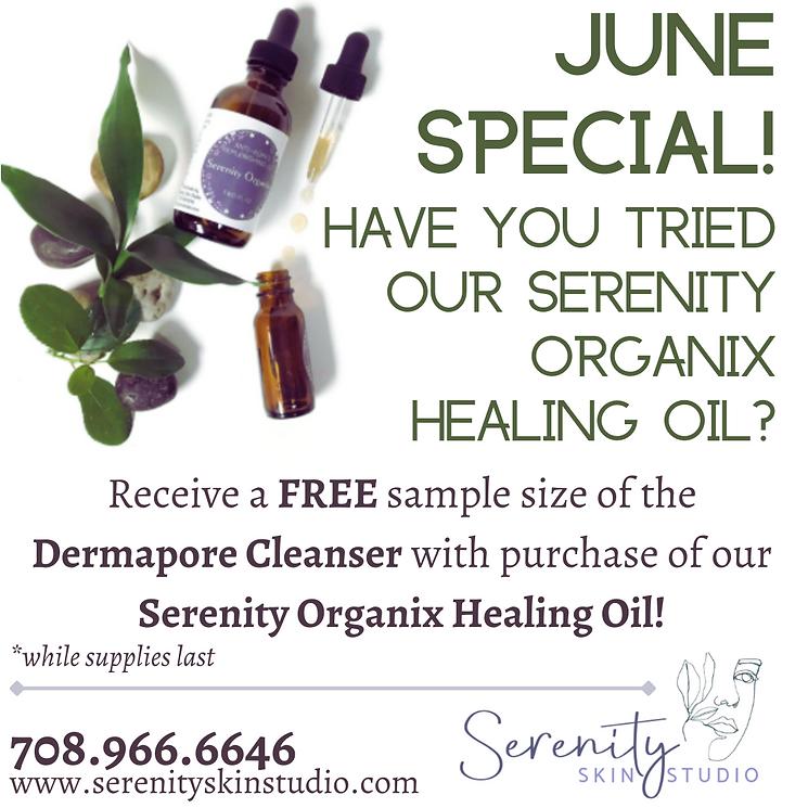 June Special 2 - Healing Oil + Sample (P