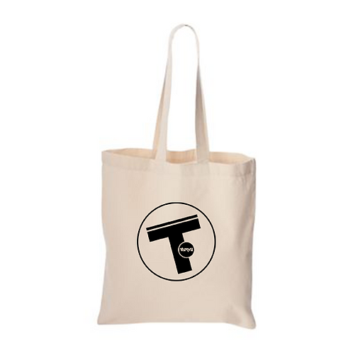 T Circle Logo Tote Bag