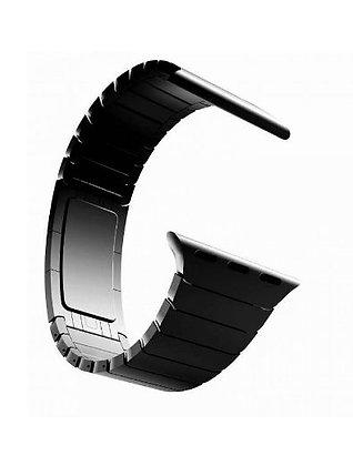 Блочный ремешок для Apple Watch 38/40 mm, черный