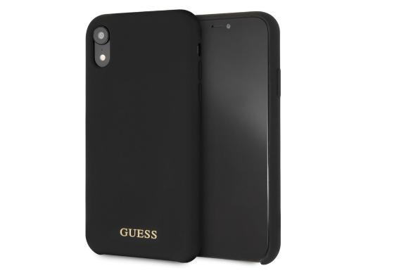 Чехол Guess для iPhone XR – Silicone, Black