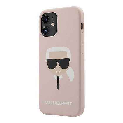 Чехол Karl Lagerfeld silicone Karl's для iPhone 12 mini, розовый