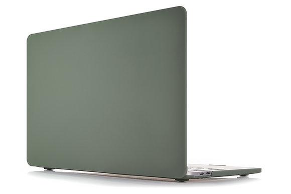 "Чехол VLP Plastic Case для MacBook Air 13"" (2018-2020) темно-зеленый"