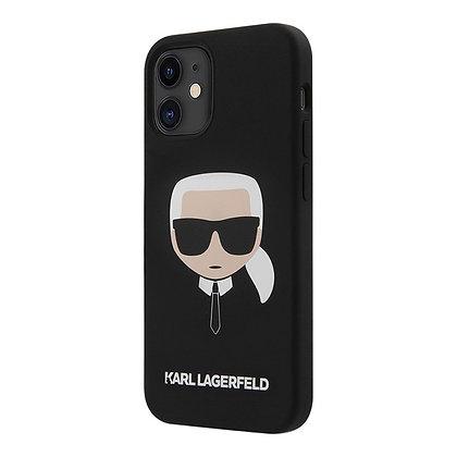 Чехол Karl Lagerfeld silicone Karl's для iPhone 12 Pro Max, черный