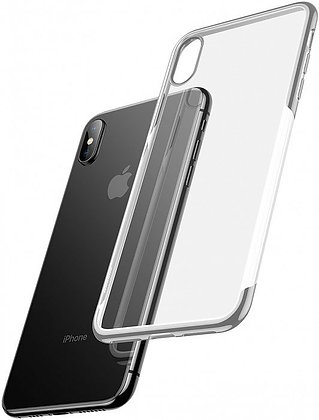 Чехол для iPhone XS Max Baseus Shining Case (Silver)