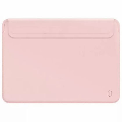 "Чехол-папка WiWU Skin Pro II для ноутбука 16"", розовый"