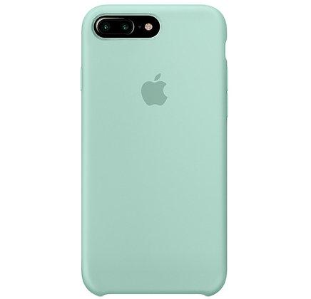 Силиконовый чехол для iPhone 8 Plus/7 Plus, цвет морской зелёный