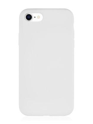 Силиконовой чехол VLP для iPhone SE (2020)/8/7, белый