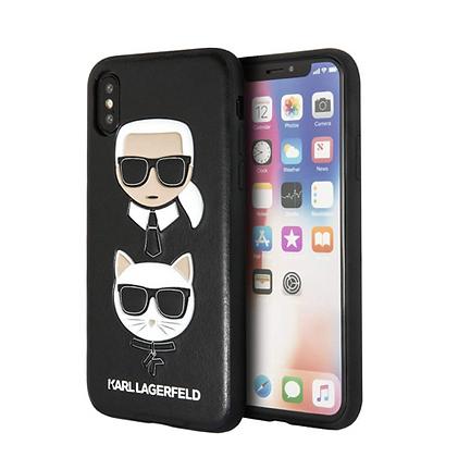 Чехол Karl Lagerfeld Karl and Choupette Hard для iPhone XS Max