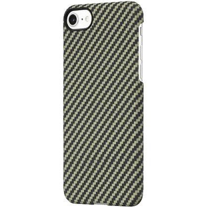 Чехол PITAKA MagCase для iPhone 7/8 зелёный карбон (Twill)