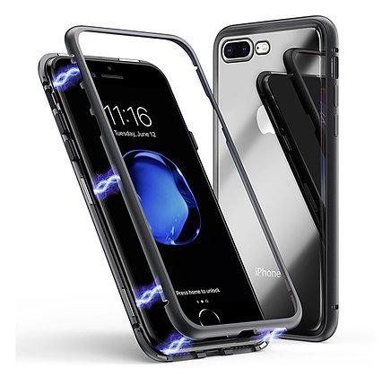 Магнитный чехол для iPhone 8 Plus / 7 Plus, Black