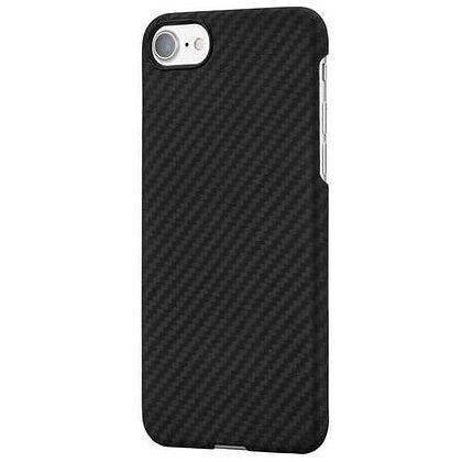 Чехол PITAKA MagCase для iPhone 7/8 чёрный карбон (Twill)