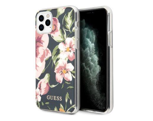 Чехол Guess Flower TPU/PC Hard Shiny N.3 для iPhone 11 Pro Max