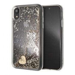Чехол Guess для iPhone XR – Glitter, золотой