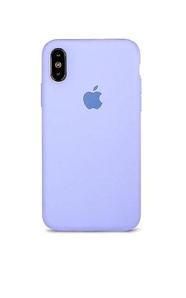 Slim case 360 на iPhone XS Max, цвет лавандовый